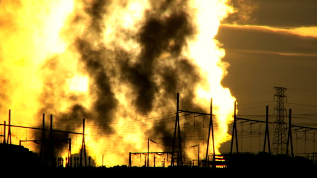 Energy Production Plant Steam video