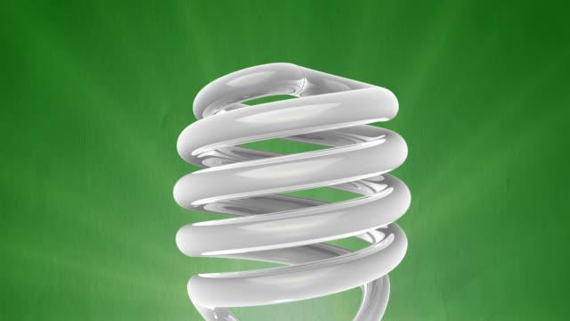 Energy Saving Light Bulb video