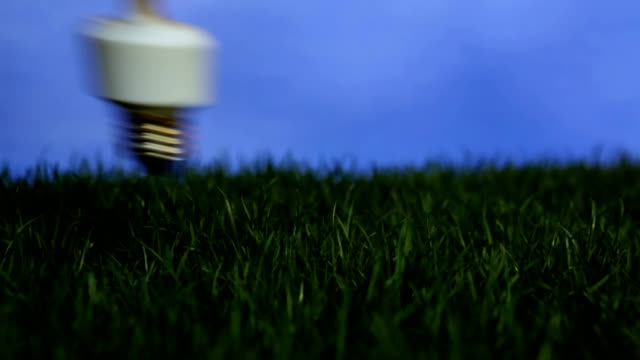 Energy saving light bulb video