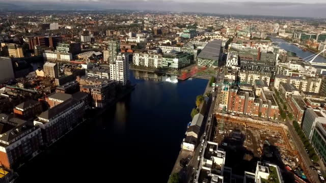 Energy Theatre and Grand Canal Dock - Western Sight video