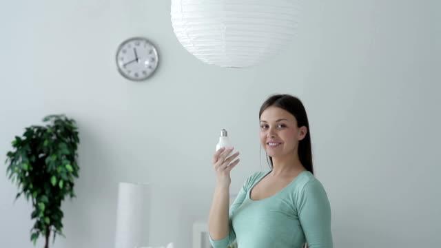 energy-saving bulb video