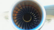 Engine aircraft video