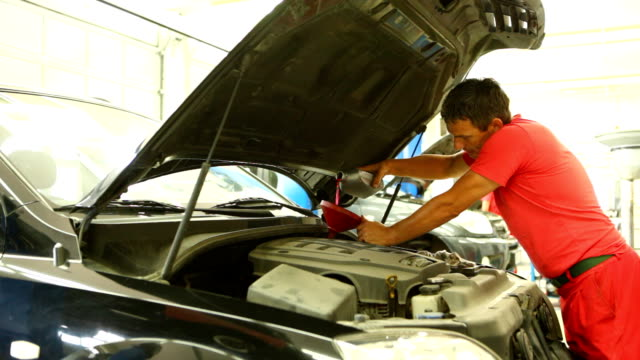 Engine oil replacement video