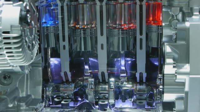 Engine pistons video
