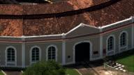 Engine Shed  - Aerial View - Minas Gerais, São João del Rei, Brazil video
