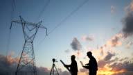 Engineer workers video