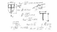 engineering calculations, formulas, solutions, equations, manually video