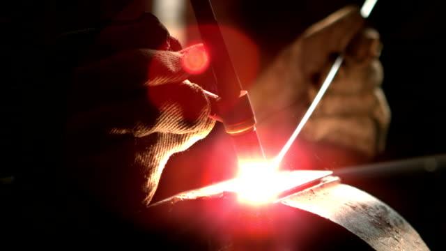 Engineering machine in metal workshop video
