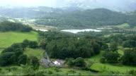 English countryside, mountain valley video