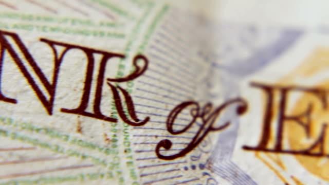 English Pound Notes video