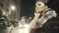 Enjoy city life in the night. video