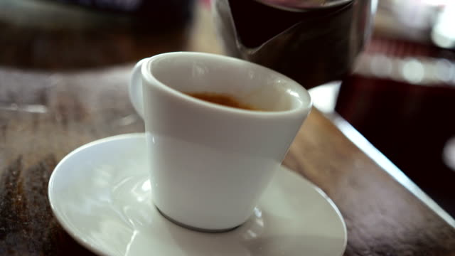 Enjoy the espresso coffee video