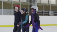 Enjoying a Day at the Ice Skating Rink video
