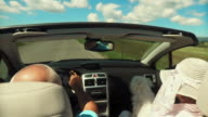 Enjoying A Ride In Convertible video