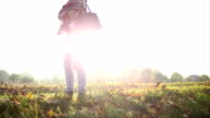 Enjoying autumn video