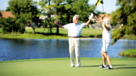 Enjoying Retirement Playing Golf video