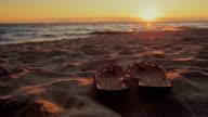 Enjoying sunset video
