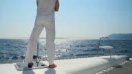 HD: Enjoying The View While Sailing video