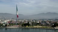 Ensenada, Mexico, aerial view video