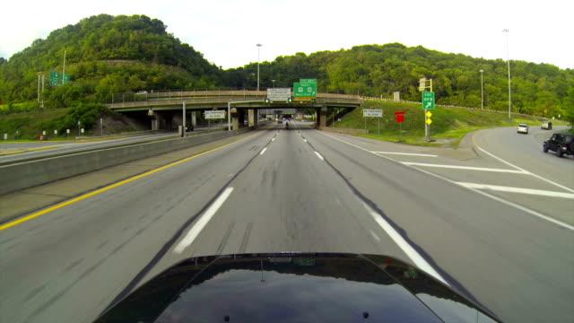Entering Fort Pitt Tunnels video