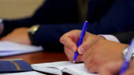 entrepreneurs written documents. Docs are fake. video