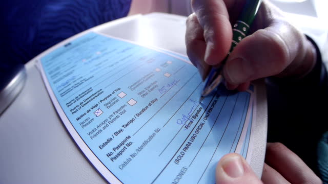 Entry visa form video
