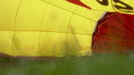 MS Envelope of a hot air balloon video
