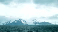 Epic Antarctica Landscape Higher Composition video