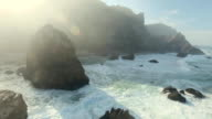 Epic Cliffs and Ocean Waves View video