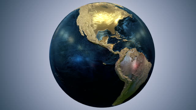 Epic Earth rotation Loopable A1 video