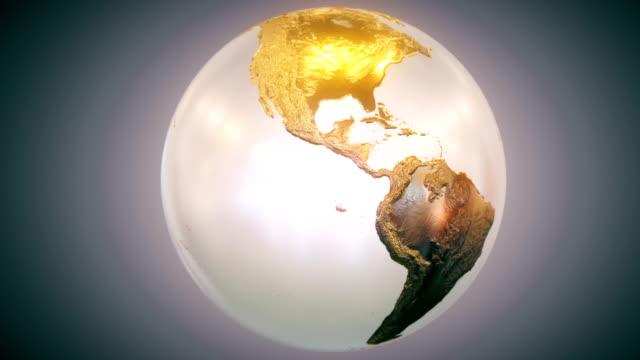 Epic Earth rotation Loopable B1 video