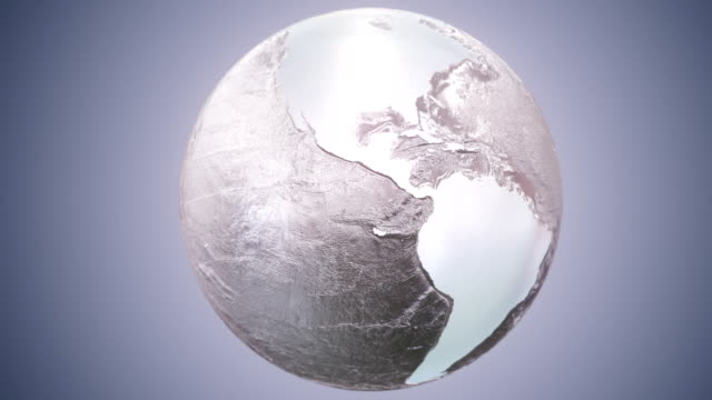Epic Earth rotation Loopable D1 video