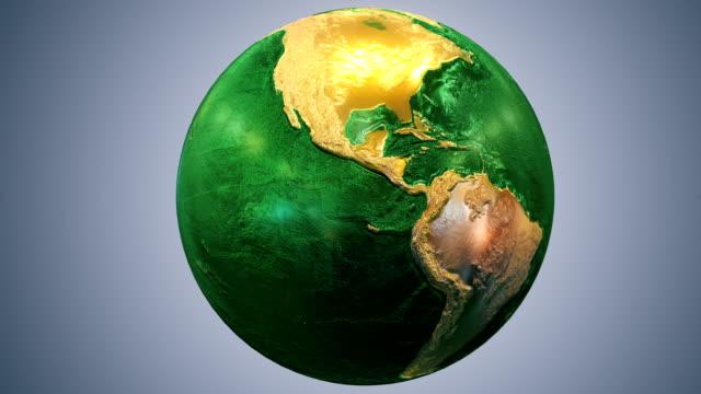 Epic Earth rotation Loopable E1 video