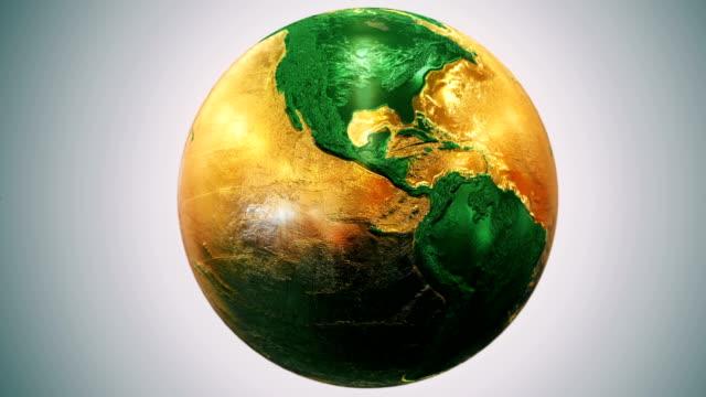 Epic Earth rotation Loopable E2 video