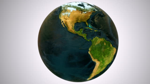 Epic Earth rotation Loopable G video