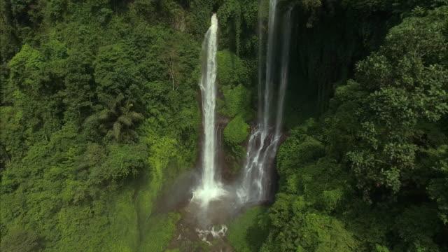 Epic hidden waterfall video