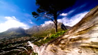 Epic Table Mountain Cape Town South Africa motion time lapse video