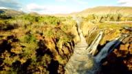 HELI Epupa Falls In The Sunshine video
