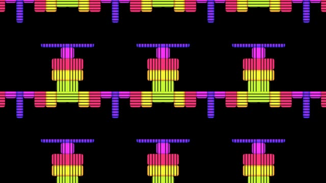 DJ Equalise Levels Graphic Background video