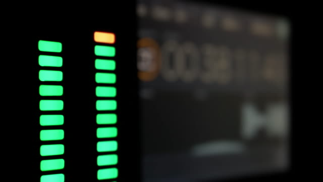 equalizer wave level timecode video