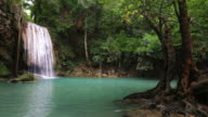 Erawan waterfall ,Kanchanaburi ,Thailand. video