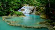 Erawan waterfall video