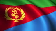Eritrea Flag Loopable video