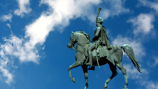 Ernst August monument in Hanover, Germany video