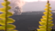 Erupting Volcano in High Definition HD & saved at Highest Quality. video