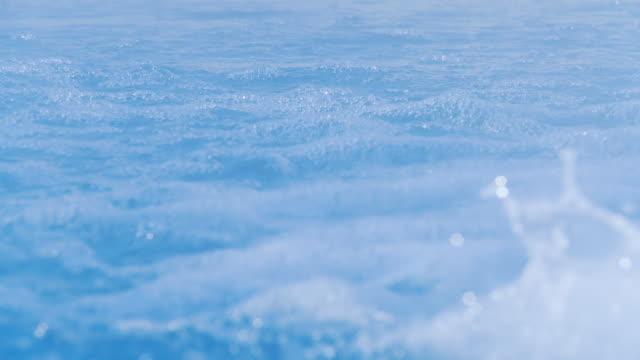 HD SLOW MOTION: Erupting Water In Whirlpool video