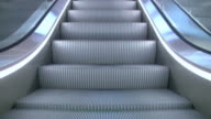 Escalator downstairs 'seamless loop' HD video