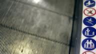 Escalator, Moving walkway video