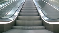 Escalator 'seamless loop' HD video