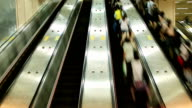 Escalator Time Lapse video